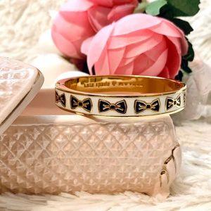 Kate Spade tie one on gold bracelet